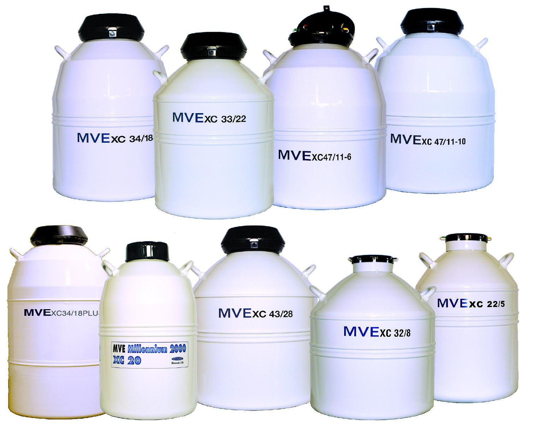 MVE XC Series Dewars